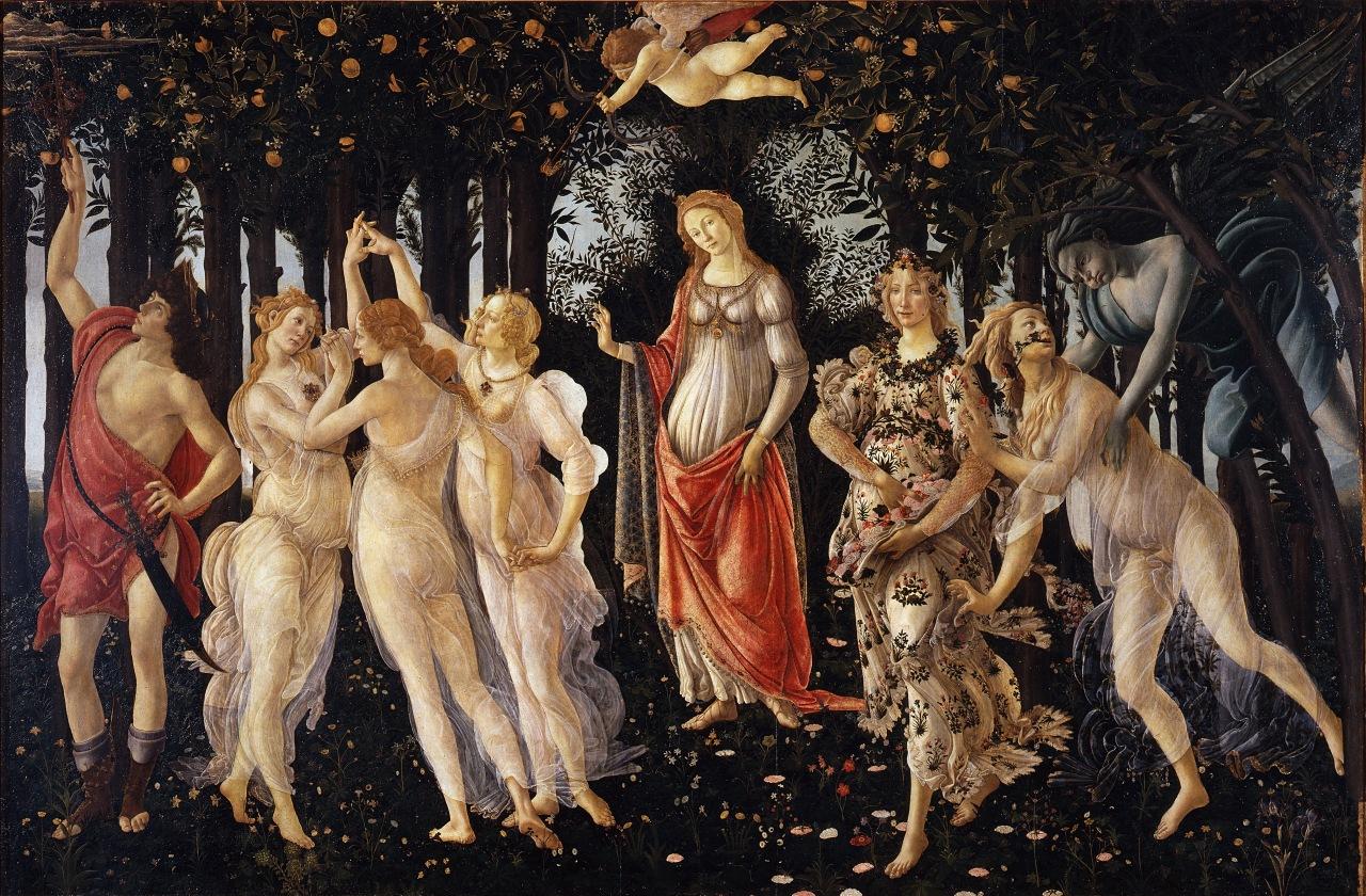 Botticelli-primavera (1) kopie